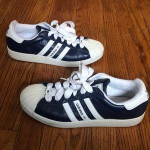 Adidas zapatos Shell Toe Azul marino talla 115 poshmark